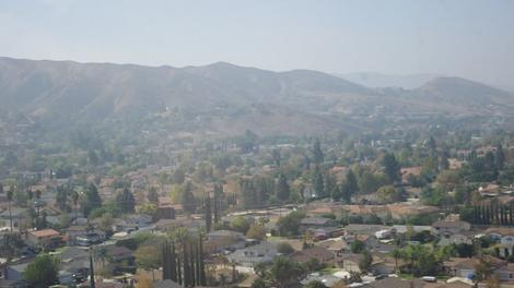 Simi Valley is where they filmed many of the westerns in the 1930's. Now it's full of houses and weeds. - grid24_12