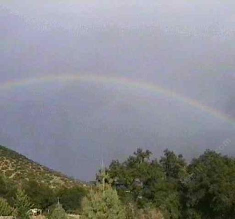 Rainbow over Las Pilitas Nursery - grid24_12