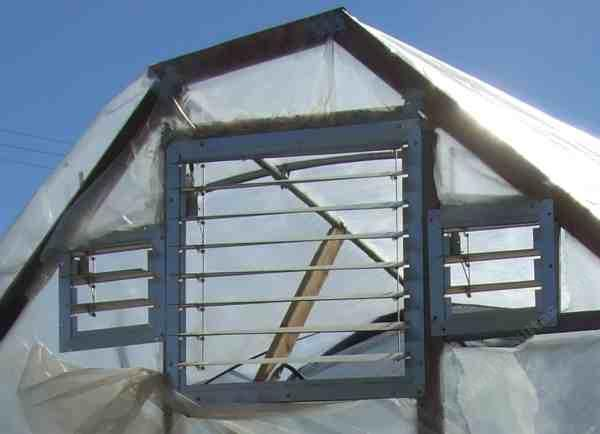 Greenhouse Vents And Ventilation Of Hot Houses Simple And