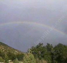Rainbow over Las Pilitas Nursery - grid24_6